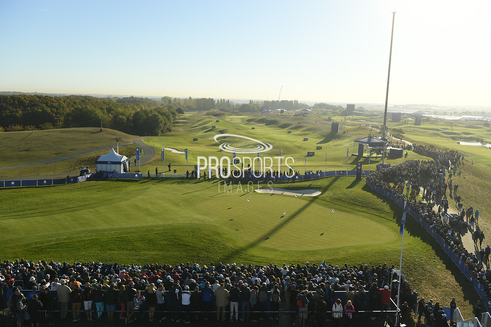 Illustration during the practice round of Ryder Cup 2018, at Golf National in Saint-Quentin-en-Yvelines, France, September 27, 2018 - Photo Philippe Millereau / KMSP / ProSportsImages / DPPI