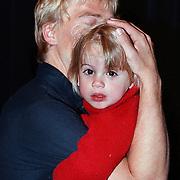 Premiere Sesamstraat Live Den Haag, Anthonie Kamerling met zoon Merlijn