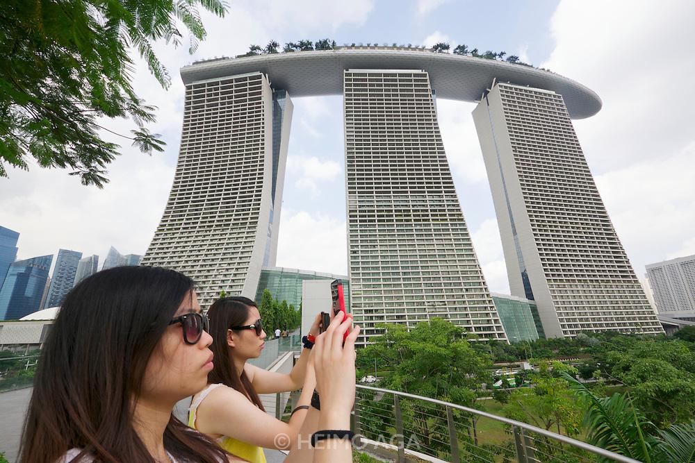 Singapore. Marina Bay Sands Hotel.