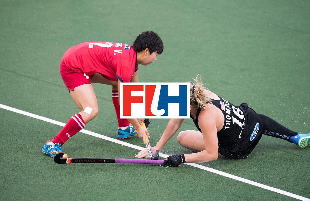AUCKLAND - Sentinel Hockey World League final women<br /> Match id 10295<br /> 05 New Zealand  v Korea<br /> Foto: Liz Thompson.<br /> WORLDSPORTPICS COPYRIGHT FRANK UIJLENBROEK