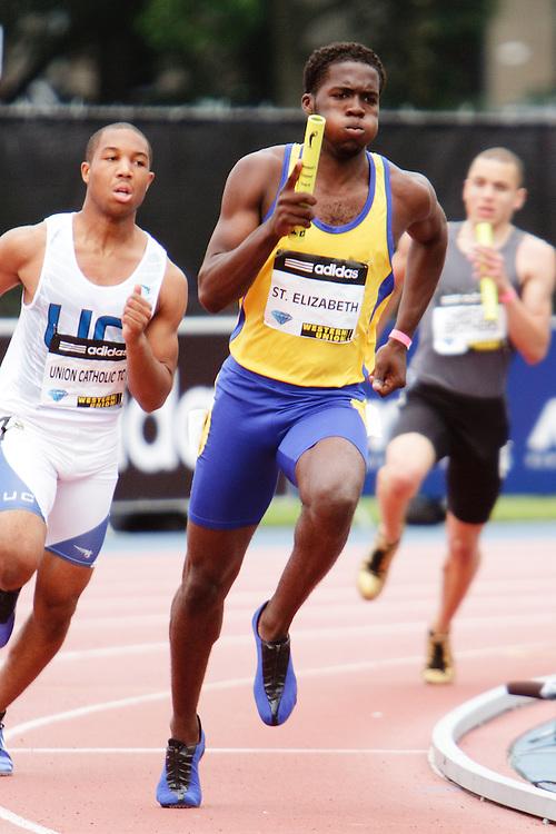 Samsung Diamond League adidas Grand Prix track & field; 4x400 meter relay Junior boys, St Elizabeth's