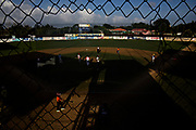 WILLEMSTAD, CURACAO - DECEMBER 11, 2014: The littlest little league players are allowed to start playing at age 5, where they take to the field to learn the fundamentals at Frank Curiel Ball Park in Willemstad's Santa Maria area. (photo by Melissa Lyttle)
