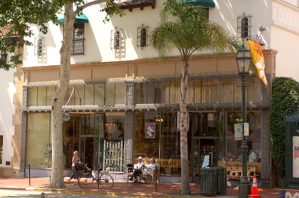 State Street, Downtown, Santa Barbara, California, United States of America