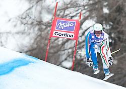 20.01.2011, Tofana, Cortina d Ampezzo, ITA, FIS World Cup Ski Alpin, Lady, Cortina, Abfahrt 2. Training, im Bild Lucia Recchia (ITA, #28) // Lucia Recchia (ITA) during FIS Ski Worldcup ladies downhill second training at pista Tofana in Cortina d Ampezzo, Italy on 20/1/2011. EXPA Pictures © 2011, PhotoCredit: EXPA/ J. Groder