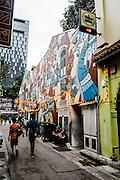 Arab Street nieghborhood, Singapore