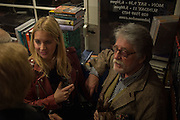 MARISSA MONTGOMERY, ; JUSTIN DE VILLENEUVE,  , Book launch for 'I Should Have Said' by Daisy de Villeneuve, John Sandoe Books, Blacklands Terrace. Chelsea, London. 10 March 2015.