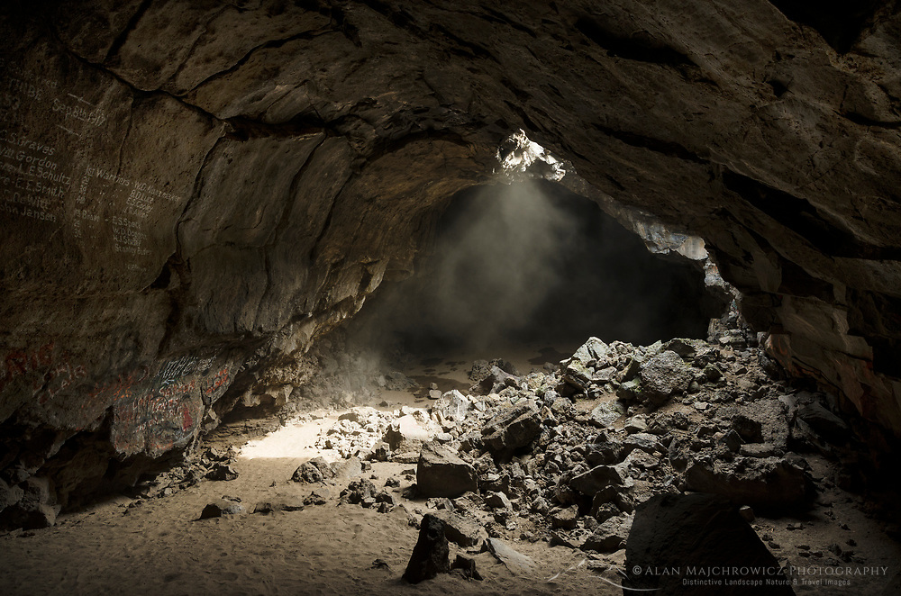 Pluto's Cave, a 190,000 year old partially collapsed lava tube on the northern outskirts of Mount Shasta, California