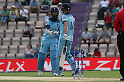 Vince reaches 50 during the ICC Cricket World Cup 2019 warm up match between England and Australia at the Ageas Bowl, Southampton, United Kingdom on 25 May 2019.