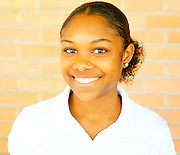 Booker T. Washington student Valencia Grayson.