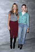 Charlotte Ronson and Annabelle Dexter-Jones attend the Charlotte Ronson presentation during the Mercedes-Benz Fall/Winter 2015 shows at the Pavilion in Lincoln Center in New York City, New York on February 13, 2015.