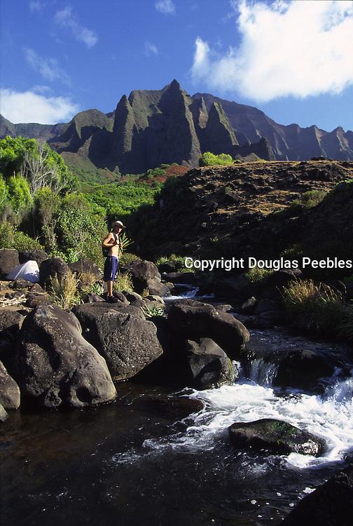 Kalalau Valley, Napali Coast, Kauai, Hawaii, USA<br />