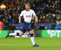 December 8, 2018 - Leicester, England, United Kingdom - Leicester, December 08, 2018.Tottenham Hotspur's Harry Kane.during the English Premier League match between Leicester City and Tottenham Hotspur at the King Power Stadium in Leicester, Britain, 8 December 2018  (Credit Image: © Action Foto Sport/NurPhoto via ZUMA Press)