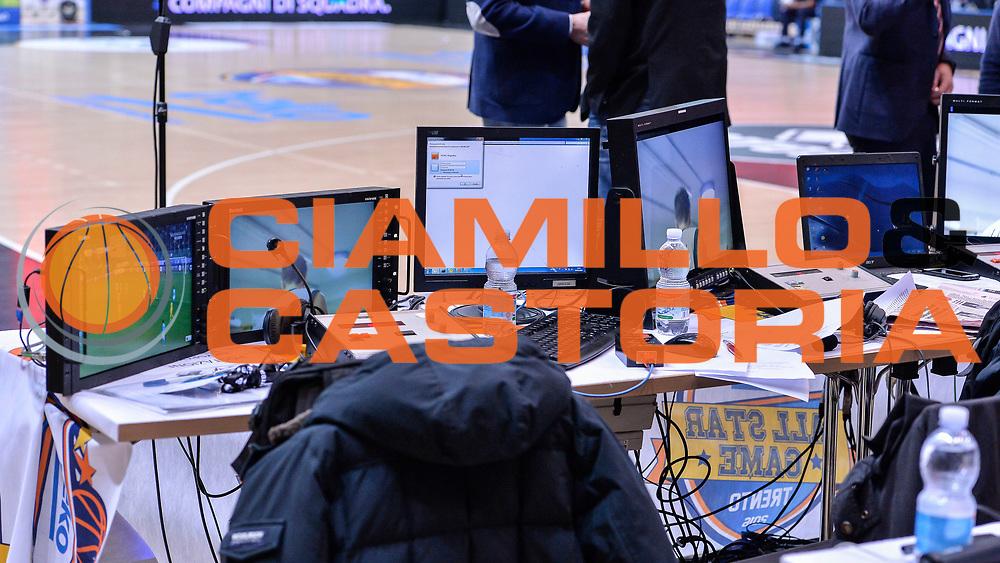 DESCRIZIONE : Trento Beko All Star Game 2016<br /> GIOCATORE : Postazione Sky Sport<br /> SQUADRA : Sky Sport TV<br /> EVENTO : Beko All Star Game 2016<br /> GARA : Beko All Star Game 2016<br /> DATA : 10/01/2016<br /> SPORT : Pallacanestro <br /> AUTORE : Agenzia Ciamillo-Castoria/L.Canu
