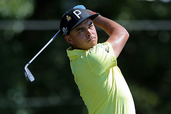 September 21, 2018 - Atlanta, Georgia, United States - Rickie Fowler tees off the 3rd hole during the second round of the 2018 TOUR Championship. (Credit Image: © Debby Wong/ZUMA Wire)
