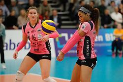 20180110 NED: CEV CUP Sliedrecht Sport - Beziers Angels VB: Sliedrecht<br />Janisa Johnson (10) of Beziers VB<br />&copy;2018-FotoHoogendoorn.nl / Pim Waslander