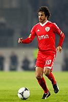 20120103: GUIMARAES, PORTUGAL - Portuguese League Cup, 3rd Stage, Round 1: VSC Guimaraes vs SL Benfica. <br /> In photo: Pablo Aimar.<br /> PHOTO: CITYFILES