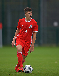 NEWPORT, WALES - Monday, October 14, 2019: Wales' Sam Bowen during an Under-19's International Friendly match between Wales and Austria at Dragon Park. (Pic by David Rawcliffe/Propaganda)