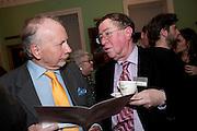 GODFREY BARKER; ALAN BORG, Mat Collishaw, Tracey Emin & Paula Rego: At the Foundling. Foundling Museum. Brunswick Square. London. 12 February 2010.