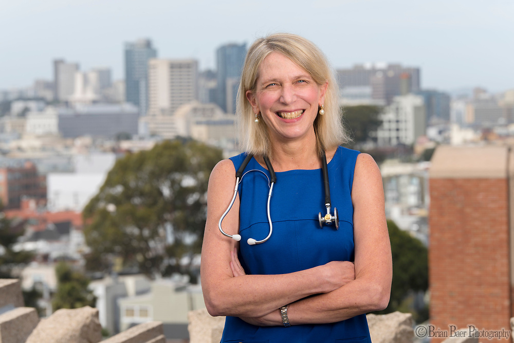 Dr. Diane Havlir at San Francisco General Hospital, Tuesday, April 4, 2017.<br /> Photo Brian Baer