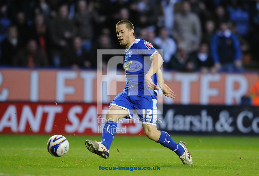 Leicester - Saturday December 22th, 2008: Matty Fryatt of Leicester City slots home Leicester's 2nd goal during the Coca Cola League One match at The Walkers Stadium, Leciester. (Pic by Alex Broadway/Focus Images)