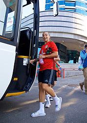 ASTANA, KAZAKHSTAN - Friday, September 15, 2017: Wales' Natasha Harding training at the Astana Arena ahead of the FIFA Women's World Cup 2019 Qualifying Round Group 1 match against Kazakhstan. (Pic by David Rawcliffe/Propaganda)