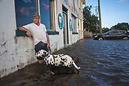 Hurricane Harvey Reaches Mandeville LA