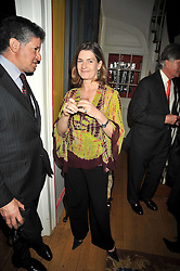 EMILY TODHUNTER at a party to celebrate the publication of Charles Glass's new book 'Americans in Paris' held at 12 Lansdowne Road, London W1 on 25th March 2009.