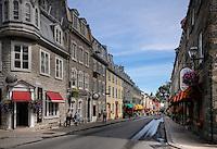 rue saint louis, quebec city, ville de québec, canada