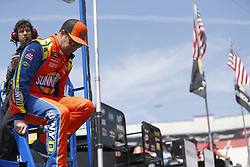 April 13, 2018 - Bristol, Tennessee, United States of America - April 13, 2018 - Bristol, Tennessee, USA: Ricky Stenhouse, Jr (17) gets ready to practice for the Food City 500 at Bristol Motor Speedway in Bristol, Tennessee. (Credit Image: © Stephen A. Arce/ASP via ZUMA Wire)