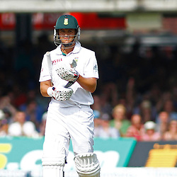 19/08/2012 London, England. South Africa's Jacques Rudolph walks off after being dismmissed during the third Investec cricket international test match between England and South Africa, played at the Lords Cricket Ground: Mandatory credit: Mitchell Gunn