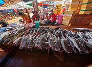 Laos, Champasak Province. Pakse. Dao Heuang Market.