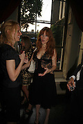 Tamzin Greenhill and Charlotte Tilbury, Tatler Summer party ( in association with Fendi) Home House, Portman Sq. 29 June 2006. ONE TIME USE ONLY - DO NOT ARCHIVE  © Copyright Photograph by Dafydd Jones 66 Stockwell Park Rd. London SW9 0DA Tel 020 7733 0108 www.dafjones.com