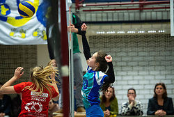 23-02-2019 NED: Semi finals NOJK girls C, Houten <br /> 216 teams participate in the semi finals of the Dutch Open Youth Championship
