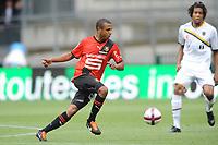 FOOTBALL - FRIENDLY GAMES 2011/2012 - STADE RENNAIS v FC SOCHAUX - 20/07/2011 - PHOTO PASCAL ALLEE / DPPI - YACINE BRAHIMI (REN) / KEVIN ANIN (FCS)
