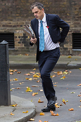London, November 07 2017.New Chief Whip Julian Smith walks up Downing Street to No. 10. © Paul Davey