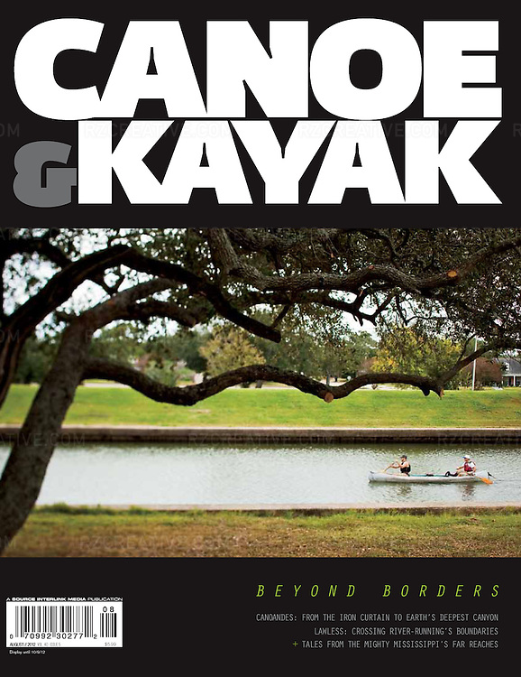 Canoe & Kayak magazine cover