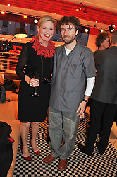 LADY CONRAN and THOMAS HEATHERWICK at an exhibition at The Conran Shop entitled Red to celebrate 25 years of The Conran Shop at the Michelin Building, 81 Fulham Road, London on 19th September 2012.