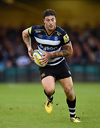 Matt Banahan of Bath Rugby - Mandatory byline: Patrick Khachfe/JMP - 07966 386802 - 10/10/2015 - RUGBY UNION - The Recreation Ground - Bath, England - Bath Rugby v Exeter Chiefs - West Country Challenge Cup.