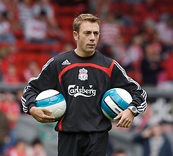 Liverpool, England - Saturday, September 1, 2007: Liverpool's new assistant manager Paco De Miguel before the Premiership match against Derby County at Anfield. (Photo by David Rawcliffe/Propaganda)