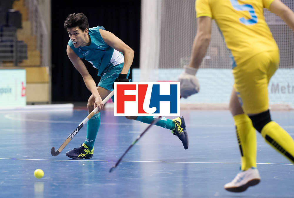 BERLIN - Indoor Hockey World Cup<br /> Men: Australia - Kazakhstan<br /> foto: Jake Sherren<br /> WORLDSPORTPICS COPYRIGHT FRANK UIJLENBROEK