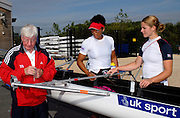 Reading, Great Britain, GB Rowing 2007 World Rowing Championship Team Announcement at the Rowing Training centre, Caversham, ENGLAND 19/07/2007  [Mandatory Credit Peter Spurrier/ Intersport Images] , Rowing course: GB Rowing Training Complex, Redgrave Pinsent Lake, Caversham, Reading