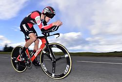 March 7, 2018 - Saint Etienne, France - SAINT-ETIENNE, FRANCE - MARCH 7 : DE MARCHI Alessandro  (ITA)  of BMC Racing Team in action during stage 4 of the 2018 Paris - Nice cycling race, an individual time trial over 18,4 km from La Fouillouse to Saint-Etienne on March 07, 2018 in Saint-Etienne, France, 7/03/2018 (Credit Image: © Panoramic via ZUMA Press)