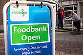 Food bank, London