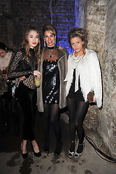 Left to right, ANOUSHKA BECKWITH, ASSIA WEBSTER and ROSE LANGLEY at the launch of 2 collections by jeweller Stephen Webster - ÔThe 7 Deadly SinsÕ and ÔNo RegretsÕ held at The Old Vics Tunnels, Under Waterloo Station, Off Leake Street, London SE1 on 8th December 2010.<br /> Left to right, ANOUSHKA BECKWITH, ASSIA WEBSTER and ROSE LANGLEY at the launch of 2 collections by jeweller Stephen Webster - 'The 7 Deadly Sins' and 'No Regrets' held at The Old Vics Tunnels, Under Waterloo Station, Off Leake Street, London SE1 on 8th December 2010.