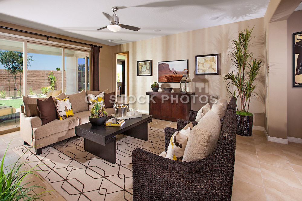 Modern Design Living Room Stock Photo