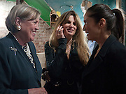 VISCOUNTESS STUART OF FINDHORN; JEMIMA KHAN, Early launch of Rupert's. Robin Birley  new premises in Shepherd Market. 6 Hertford St. London. 10 June 2010. .-DO NOT ARCHIVE-© Copyright Photograph by Dafydd Jones. 248 Clapham Rd. London SW9 0PZ. Tel 0207 820 0771. www.dafjones.com.