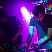 WASHINGTON, DC - August 7, 2014 - Mike Petillo and Aaron Leitko of Protect-U perform at Tropicalia in Washington, D.C. (Photo by Kyle Gustafson)