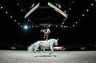 Team FRA, Watriano R, Fabrice Holzberger - Squad Final Vaulting - Alltech FEI World Equestrian Games&trade; 2014 - Normandy, France.<br /> &copy; Hippo Foto Team - Jon Stroud<br /> 05/09/2014