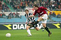 Roma 22/2/2004 <br />Roma Siena 6-0 <br />Antonio Cassano (Roma) scores goal of 2-0<br />Photo Andrea Staccioli Graffiti