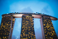 Marina Bay Sands, one of Singapore's most famous modern landmarks.